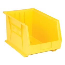"Yellow Quantum® Ultra Series Stack & Hang Bin - 18"" L x 11"" W x 10"" Hgt."