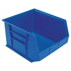 "18""L x 16-1/2""W x 11""H Blue Quantum® Ultra Series Stack & Hang Bin"