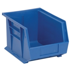 "10-3/4""L x 8-1/4""W x 7""H Blue Quantum® Ultra Series Stack & Hang Bin"