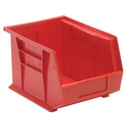 "10-3/4""L x 8-1/4""W x 7""H Red Quantum® Ultra Series Stack & Hang Bin"