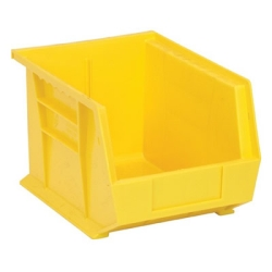 "10-3/4""L x 8-1/4""W x 7""H Yellow Quantum® Stack & Hang Bin"