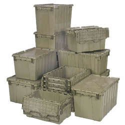 Quantum® Heavy Duty Attached Top Containers