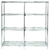Quantum® Q-Stor Extra Shelves & Posts for Wire Shelving