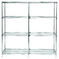 Quantum® Q-Stor Extra Shelves & Posts for Wire Shelving