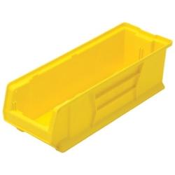 """23-7/8""""L x 8-1/4""""W x 7""""H Yellow HULK Stack Bin"""
