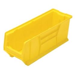 """23-7/8"""" L x 8-1/4"""" W x 9"""" Hgt. Yellow HULK Stack Bin"""