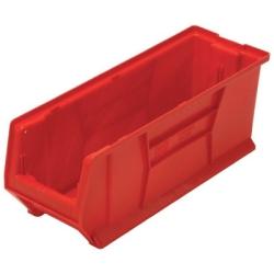 """23-7/8""""L x 8-1/4""""W x 9""""H Red HULK Stack Bin"""
