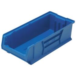 """23-7/8""""L x 11""""W x 7""""H Blue HULK Stack Bin"""