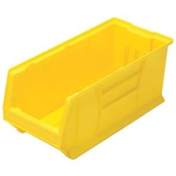 """23-7/8"""" L x 11"""" W x 10"""" Hgt. Yellow HULK Stack Bin"""