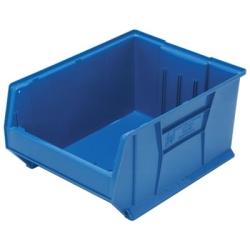 """23-7/8""""L x 18-1/4""""W x 12""""H Blue HULK Stack Bin"""