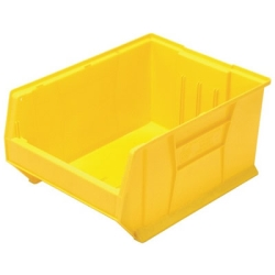 """23-7/8""""L x 18-1/4""""W x 12""""H Yellow HULK Stack Bin"""