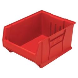 """23-7/8""""L x 18-1/4""""W x 12""""H Red HULK Stack Bin"""