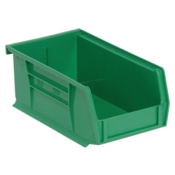 "Green Quantum® Ultra Series Stack & Hang Bin - 7-3/8"" L x 4-1/8"" W x 3"" Hgt."