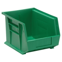 "10-3/4""L x 8-1/4""W x 7""H Green Quantum® Ultra Series Stack & Hang Bin"