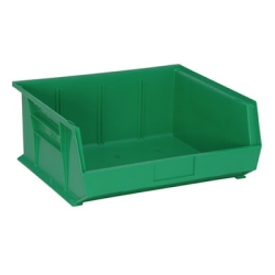 "Green Quantum® Ultra Series Stack & Hang Bin - 14-3/4"" L x 16-1/2"" W x 7"" Hgt."