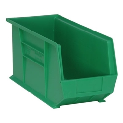"Green Quantum® Ultra Series Stack & Hang Bin - 18"" L x 8-1/4"" W x 9"" Hgt."