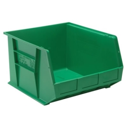 "18""L x 16-1/2""W x 11""H Green Quantum® Ultra Series Stack & Hang Bin"