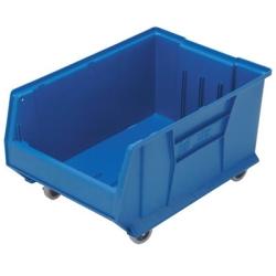 """23-7/8"""" L x 16-1/2"""" W x 11"""" Hgt. Blue HULK Mobile Bin"""
