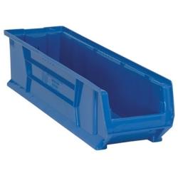 """29-7/8""""L x 8-1/4""""W x 7""""H Blue HULK Stack Bin"""