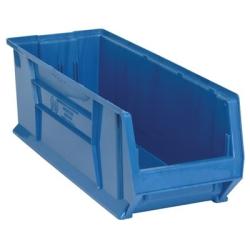 """29-7/8""""L x 11""""W x 10""""H Blue HULK Stack Bin"""