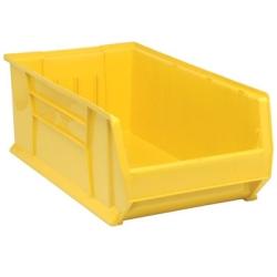 """29-7/8""""L x 16-1/2""""W x 11""""H Yellow HULK Stack Bin"""
