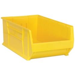 """29-7/8"""" L x 18-1/4"""" W x 12"""" Hgt. Yellow HULK Stack Bin"""