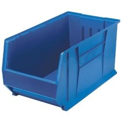 """29-7/8""""L x 16-1/2""""W x 15""""H Blue HULK Stack Bin"""
