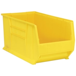 """29-7/8""""L x 16-1/2""""W x 15""""H Yellow HULK Stack Bin"""