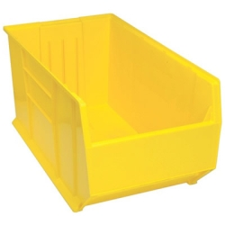 """35-3/4""""L x 19-7/8""""W x 18""""H Yellow HULK Bin"""
