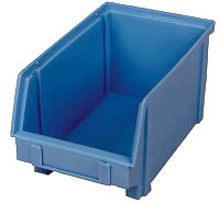 LEWISBins+™ Blue Plastibox Bins