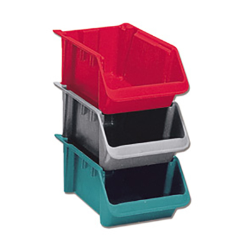 LEWISBins+™ Hopper Stack-N-Nest Boxes