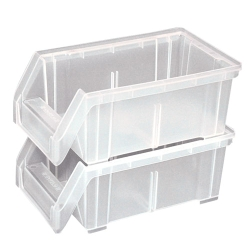 "Black Dividers for 14-3/4""L x 5-1/2""H Clear Bins"