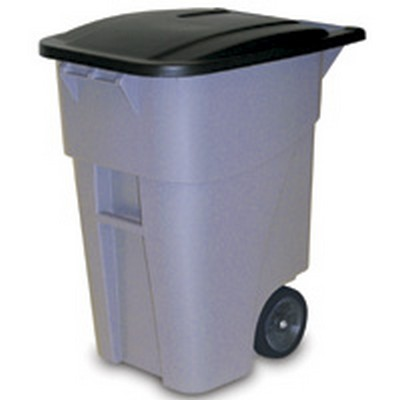 Rubbermaid® 50 Gallon Brute® Roll Out Container