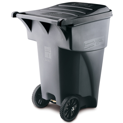 Rubbermaid® 65 & 95 Gallon Brute® Roll Out Container