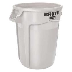 10 Gallon White Rubbermaid ® Brute ® 17-1/8