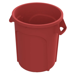20 Gallon Red Value Plus Trash Container