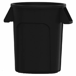 32 Gallon Black Value Plus Trash Container