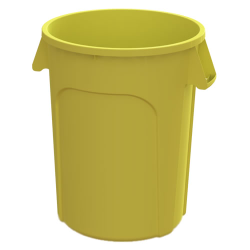 44 Gallon Yellow Value Plus Trash Container