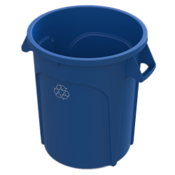 20 Gallon Blue Value Plus Recycling Container