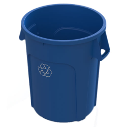 32 Gallon Blue Value Plus Recycling Container
