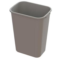 41 Quart Beige Wastebasket