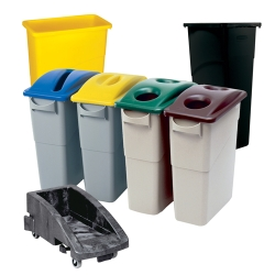 Rubbermaid® Slim Jim® Containers Recycling System