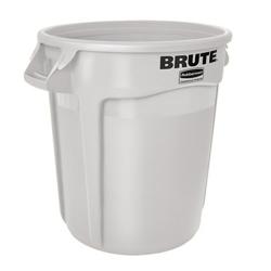 20 Gallon White Rubbermaid ® Brute ® - 19.38