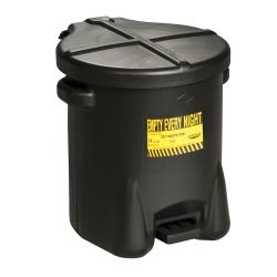 6 Gallon Black Eagle Safety Oily Waste Can
