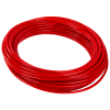 ".170"" ID x 1/4"" OD Red High Pressure Flexible Nylon 12 Tubing"