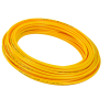 ".170"" ID x 1/4"" OD Yellow High Pressure Flexible Nylon 12 Tubing"