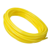 "1/8"" ID x 1/4"" OD x 1/16"" Wall Yellow Polyurethane Tubing"