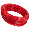 "1/8"" ID x 1/4"" OD x 1/16"" Wall Red PVC Tubing"