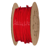 "1/4"" OD x .040"" Wall Red Excelon Polyethylene Tubing"