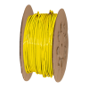 "1/4"" OD x 0.040"" Wall Yellow Excelon Polyethylene Tubing"